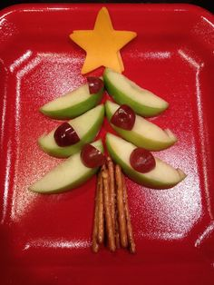Christmas Tree snack