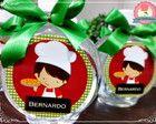 Água Ouro Fino personalizada - Festa Piz
