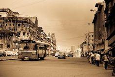 Mumbai vroeger: een rustige en kleine stad
