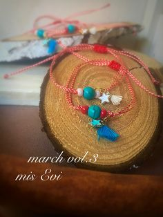 March vol.3. Red & white!!!! Handmade bracelets Handmade Bracelets, Handmade Jewelry, Evil Eye Bracelet, Mars, Straw Bag, Macrame, Red And White, Jewlery, Projects To Try