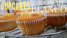 Cupcakes de chocolate blanco || Receta: Alma Cupcakes