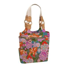 JulieApple Tall Tale Tote tote bag in Ipanema. Our version of the catch-all carry-all tote. $88