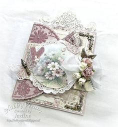 Lemon Crafts, Exploding Box Card, Shabby Chic Cards, Some Cards, Marianne Design, Pocket Cards, Pretty Cards, Flower Cards, Mini Albums