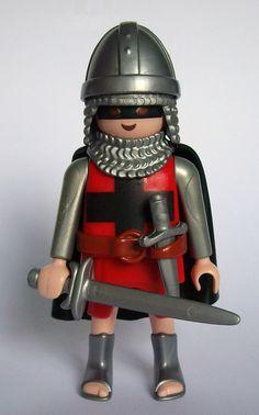 Caballero Medieval de Playmobil.