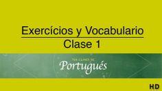 Video de portugués básico