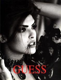 Shana for Guess, by Ellen von Unwerth, 1991 Ellen Von Unwerth, Guess Models, 90s Models, Tim Walker, 90s Fashion, Fashion Models, High Fashion, Cindy Crawford, Guess Campaigns