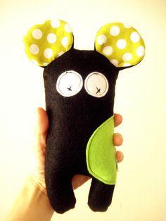Black Rat- little bit cuter version of the monster toys