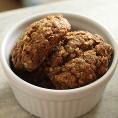 Cookie Integral de Aveia e Mel | Gordelícias