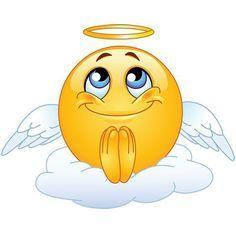 Angel Emoticon In 2021 Funny Emoticons Animated Emoticons Funny Emoji