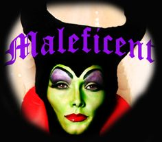 MALEFICENT from Sleeping Beauty #Halloween makeup tutorial by the one and only Kandee Johnson