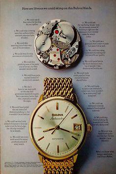 1968 Bulova ad