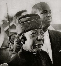 Mrs. Claude Wesley at the funeral of her daughter Cynthia, one of the four girls killed in the bombing of Birmingham's Sixteenth Street Baptist Church on September 15, 1963.  (Published in The Saturday Evening Post, June 6, 1964)