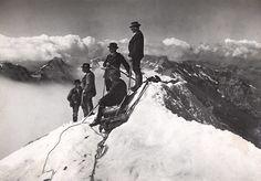 caraincertezza:  Mont Blanc 1911