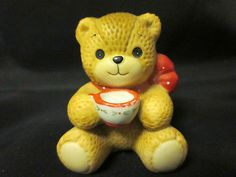 99 Cent Auction of the Day:  See this adorable #Enesco Lucy and Me vintage bear figurine and many more 99 Cent Auctions in the store at http://stores.ebay.com/Moongate-Memorabilia 11-17-13