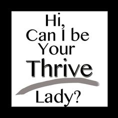 I'd love to share Thrive with you!! http://jennyhermel.le-vel.com/