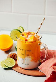 Vegan Mango Lassi   Minimalist Baker Recipes