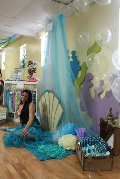 Mermaids / Under The Sea featuring Dora Mermaid Birthday Party Ideas | Photo 6 of 103 | Catch My Party