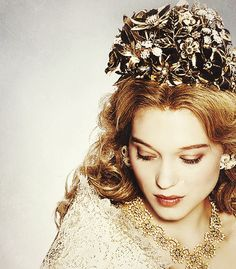 léa seydoux as belle | Tumblr