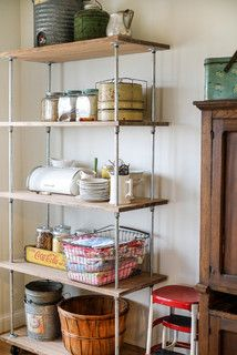 Make an Industrial-Style Shelving Unit