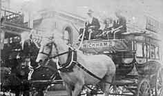 Federal Livery coach service to Wickham, [Newcastle, NSW, n. Newcastle Town, Library University, Aboriginal People, Bus Coach, My Town, Beautiful Scenery, Old Photos, Postcards, Purpose
