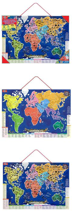 Geography and history 11733 unopened name that country board game geography and history 11733 ts shure animals of the world map wooden magnetic puzzle gumiabroncs Images