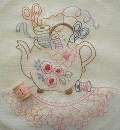 Block 5 Teapot by Fiona Marie Clark, via Flickr