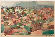 Paul Klee, Taormina, 1924 on ArtStack #paul-klee #art