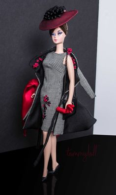 Mattel - Silkstone Barbie - wearing Mercato by Tommydoll (Photo: Tom Courtney for Tommydoll)