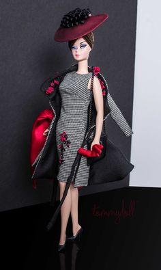 Mattel - Silkstone Barbie - wearing Mercato by Tommydoll (Photo: Tom Courtney for Tommydoll)