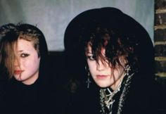 vintage everyday: White of Face and Clad in Black: These 60 Amazing Candid Snapshots That Capture Goth Scene of the Vintage Goth, Vintage Stuff, 80s Goth, Punk Goth, Goth Hair, Grunge Hair, Photo Album Printing, Goth Kids, Goth Subculture