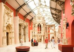 Visit one of these 10 Paris museums on the first Sunday of the month for free! This is the Cité de l'Architecture et du patrimoine © Paris Tourist Office - Marc Bertrand French Architecture, Religious Architecture, Architecture Student, Architect Jobs, History Of Wine, Century Hotel, Destinations, Tourist Office, Historical Monuments