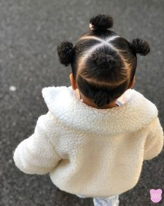 Black Baby Girl Hairstyles, Little Girls Natural Hairstyles, Toddler Braided Hairstyles, Kids Curly Hairstyles, Mixed Baby Hairstyles, Hairstyle For Baby Girl, Infant Hairstyles, Weave Hairstyles, Girl Hair Dos