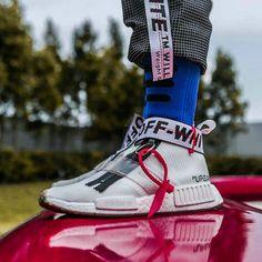 Off-white x adidas NMD City Sock