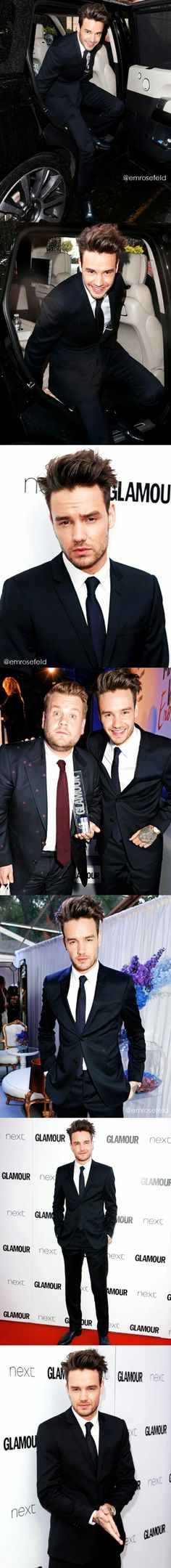 Liam with James
