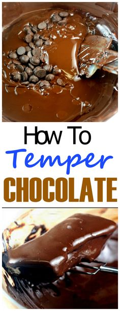 If you want shiny, snappy, 'melt-in-your-mouth but not in your hands' chocolate dipped candies, truffles, etc, this holiday season, exactly like the fancy chocolates from chocolatiers, follow these instructions on how to temper your chocolate for dipping, coating, and/or just homemade chocolates. It's so easy.. and ready in minutes!