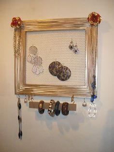 http://www.ebay.com/itm/Jewelry-Organizer-Display-Rack-Picture-Frame-20-x-21-7-8-Jewelry-Holder-/390660420765?pt=LH_DefaultDomain_0&hash=item5af52cf49d