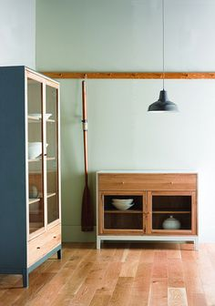 Ercol furniture.  Love the simple lines.