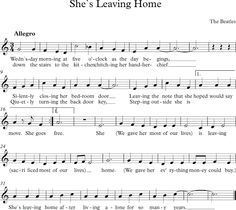 She`s Leaving Home. The Beatles.