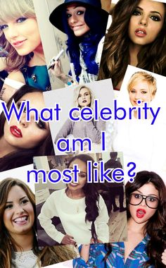 Hmmmm i think i'm most like demi but i want to see your opinions..