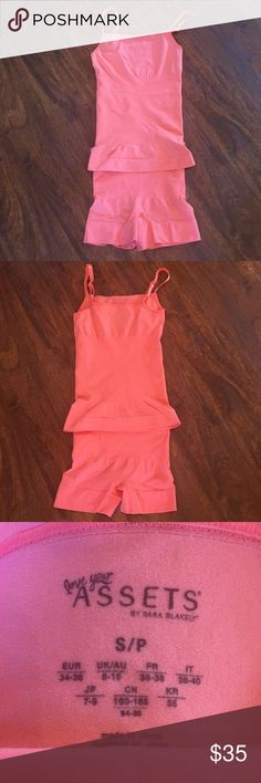 Assets by Sara Blakely Cami & Panty Shapewear New without tags. Both pieces are a size small ASSETS by Sara Blakely Intimates & Sleepwear Shapewear