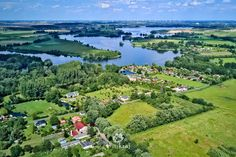 Havel in Brandenburg *  #Havel, #Brandenburg, #Germany, #Bicycletouring, #Cycling, #Drone