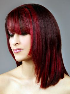 new hair color with redken highlights