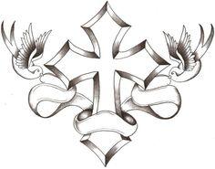 Cross Tattoo Designs With Names | Cross Tattoo