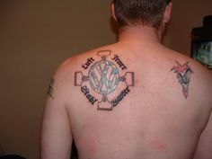 People with Volkswagen tattoos