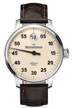 MeisterSinger - Salthora Meta - Single-Hand Watches Models - MeisterSinger