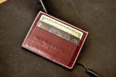 Mini Card-Wallet em Couro Importado Horween