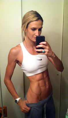 Super lean and ripped