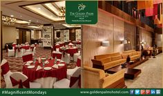 The Golden Palms Hotel & Spa, Delhi is an ideal place for conducting workshops, seminars, conferences or meetings. Visit www.goldenpalmshotel.com for more details. #MagnificentMondays