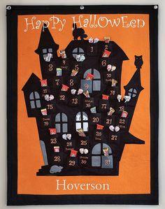 advent calendar for halloween. Cool idea