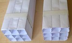 Trasformatore acustico e diffrattore acustico a guida d'onda multiplo in carta.